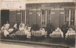 Beauvais : Hôpital (militare) N° 1. (TB Plan) Carte-photo. - Beauvais