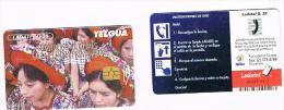 GUATEMALA - TELGUA / LADATEL - 1999: SANTIAGO ATITLAN (ROSTROS Y COLORES DE LA ETERNA PRIMAVERA)  - USED - RIF. 8030 - Guatemala