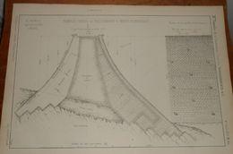 Plan D'un Remblai Viaduc De Neuenmarkt à Marktschorgast. Chemin De Fer Du Nord De La Bavière. 1858 - Public Works