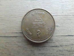 Nepal  1  Rupees 2003  (2060)   Km 1150 - Nepal