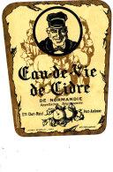AN 218/ ETIQUETTE  EAU DE VIE DE CIDRE  -ETS CHORT-MUTEL  PONT AUDEMER - Labels