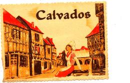 AN 221/ ETIQUETTE   CALVADOS - Labels