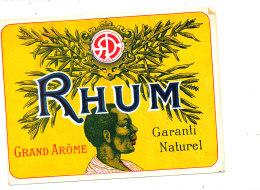 AN 235 / ETIQUETTE    RHUM    GRAND AROME  GARANTI NATUREL - Rhum