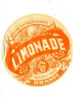 AN 239 / ETIQUETTE     LIMONADE   ORANGE - Labels