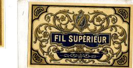 AN 241 / ETIQUETTE      FIL SUPERIEUR - Labels