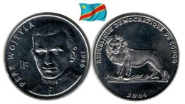 Congo - 1 Franc 2004 (Pape - UNC) - Congo (Democratic Republic 1998)