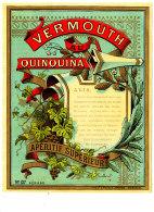 AN 243 / ETIQUETTE     VERMOUTH QUINQUINA -APERITIF SUPERIEUR - Labels