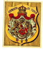 AN 250 / ETIQUETTE     VERMOUTH  DE TURIN - Labels