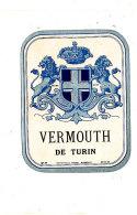 AN 251 / ETIQUETTE     VERMOUTH  DE TURIN - Labels