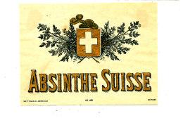 AN 258 / ETIQUETTE     ABSINTHE  SUISSE - Labels