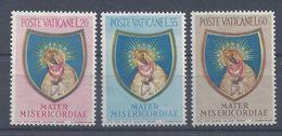 VATICAN - 1954 - N° 207/209 - Neufs  - X - Traces Légères - TB - Cote 40 € - Ungebraucht