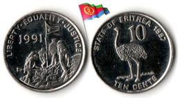Erythrée - 10 Cents 1997 (UNC) - Erythrée