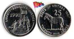 Erythrée - 25 Cents 1997 (UNC) - Eritrea
