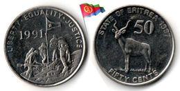 Erythrée - 50 Cents 1997 (High Grade) - Eritrea