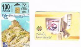 MONTENEGRO  - TELECOM (CHIP)  - 2000  NJEGOS CHAPEL   -   USED  -  RIF. 1564 - Montenegro