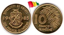 Guinée - 10 Francs 1985 (UNC) - Guinea Francese