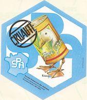 SPA / FOIE GRAS = CRUAUTE - Stickers