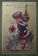 Fond Doré - Pays Costume, Drapeau, Blason, Armoiries - RUSSIE - Imp. Kahn - Chromos