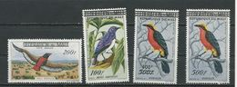 MALI  Scott C5-C8 Yvert PA5-PA8 (4) ** Cote 45,00$ 1960 - Mali (1959-...)