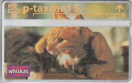 SUISSE - PHONE CARD - TAXCARD-PRIVÉE ***  WISKAS & 2  CHATS.  ROMÉO & JULIETTE  *** - Switzerland