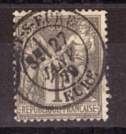 Sage N° 72 Oblitéré CàD Eure 1879 - 1876-1878 Sage (Type I)