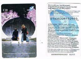 KOSOVO (KOSSOVO) - VALA 900 (GSM RECHARGE) - TWO GIRLS  € 10   -  USATA  -  RIF. 756 - Kosovo