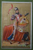 Fond Doré - Histoire Costume, SEIGNEUR - XVII Siècle - Imp. Courbe-Rouzet - Chromos