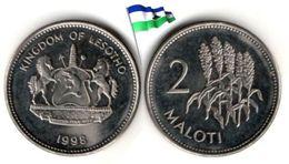 Lesotho - 2 Maloti 1998 (UNC) - Lesotho