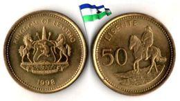 Lesotho - 50 Lisente 1998 (UNC) - Lesotho