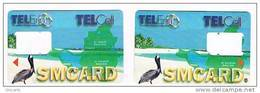 ST MAARTEN (ST. MARTIN)   -  SIM GSM TELEM TELCELL - UCCELLI (BIRDS) - USED WITHOUT CHIP         -  RIF. 959 - Antilles (Netherlands)