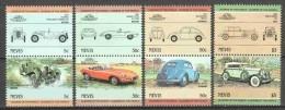 Nevis 1984 Mi 194-201 MNH CLASSIC CARS - Cars