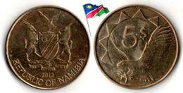 Namibie - 5 Dollars 2012 - Namibia