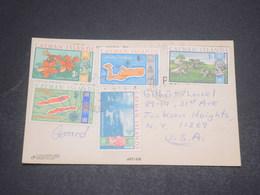 ÎLES CAÏMANS - Carte Postale Pour Les U.S.A. , Affranchissement Plaisant - L 12068 - Iles Caïmans