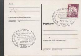 3235   Tarjeta Munster 1982  Turinger - [7] República Federal