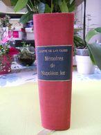 Mémoire Napoléon Ier ( Mémorial Sainte-Hélène ) - Books, Magazines, Comics