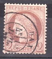 Cérès N° 51 - Oblitération Dax - Centrage Correct - 1871-1875 Ceres
