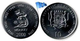 Somalie - 10 Shillings 2000 (Singe - UNC) - Somalie
