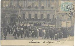 60. NOYON.  CARTE PHOTO.  AN 1905. - Noyon