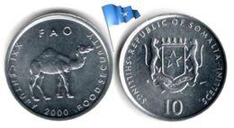 Somalie - 10 Shillings 2000 (F.A.O - UNC) - Somalie