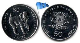 Somalie - 50 Shillings 2002 (UNC) - Somalie