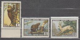 Russia USSR 1961 Mi# 2448-2450 Fauna Animals MNH * * - 1923-1991 URSS