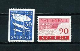 Suecia  Nº Yvert  437/8  En Nuevo - Nuevos