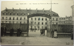 CASERNE DES TOURELLES , BOULEVARD MORTIER - PARIS - Paris (20)