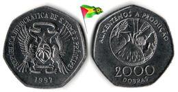 Saint Thomas & Prince Island - 2000 Dobras (UNC) - Santo Tomé Y Príncipe