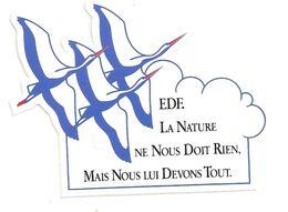 EDF / LA NATURE NE NOUS DOIT RIEN, MAIS NOUS LUI DEVONS TOUT - Stickers