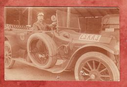 Auto Mit Fahrer, Per Feldpost, Nach Mainz 1915 (45452) - Voitures De Tourisme