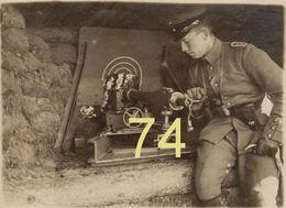Photos Sur Papier Glacé De La Guerre 1914 1918 En Noir Et Blanc Retirage Apres Restauration ,ww1 - 1914-18