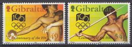 Gibraltar MNH Set - Olympic Games