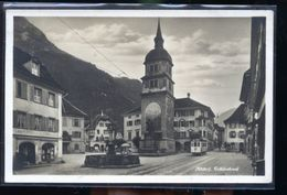 ALTORF TELLEDENKMAL   LE TRAM PHOTO CARTE - Suisse