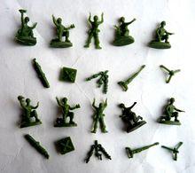 équivalence De BOITE ATLANTIC Réf 119 1/72 MORTIERS LOURDS  No Airfix Matchbox Esci .. - Army